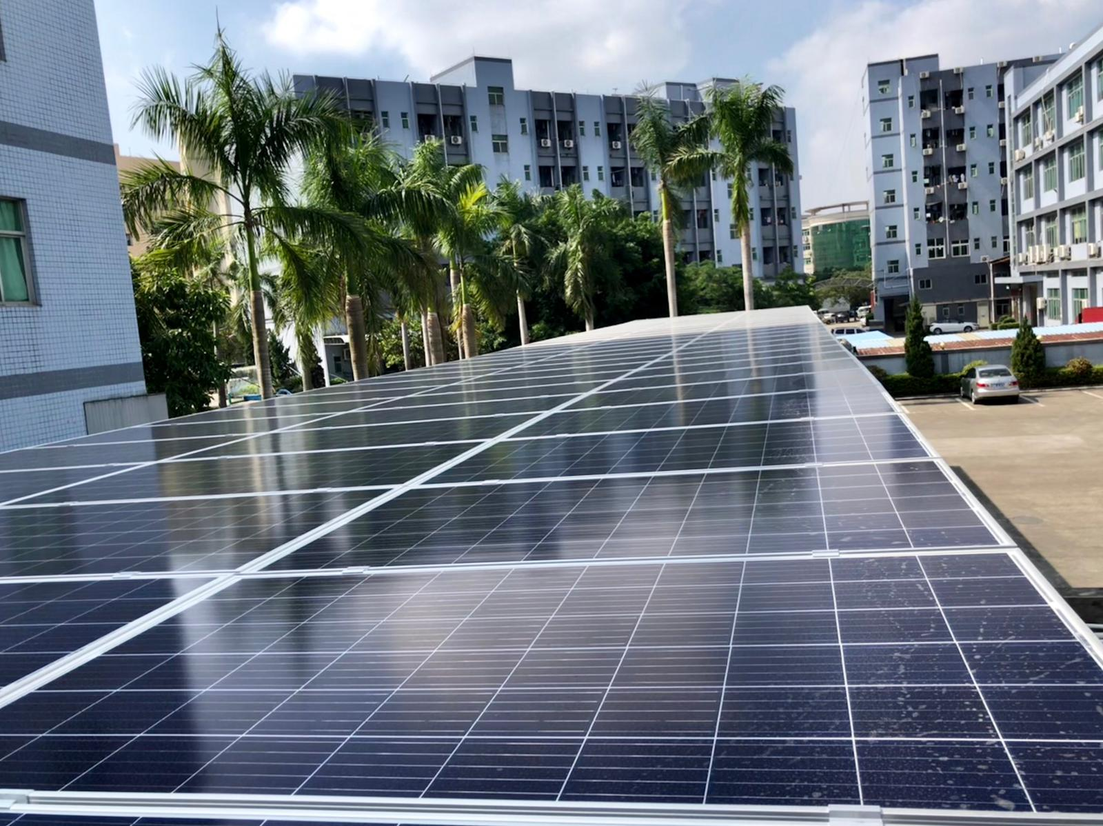 New solar power panel in China!